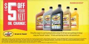 Get the most with Pennzoil Oil Change Coupon Deals